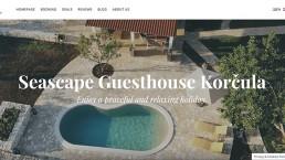 Seascape Guesthouse Korcula web